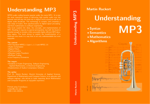 Homepage of Understanding MP3